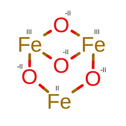 Fe3O4 stopnie utlenienia